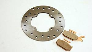 2007 2008 2009 Can-Am Outlander 650 Front and Rear Brake Pads Severe Duty