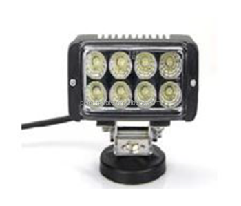 24W 6 inch 8PCS Epistar For Auto Car Truck Waterproof Offroad Working Light Tractor Lamp Work Light