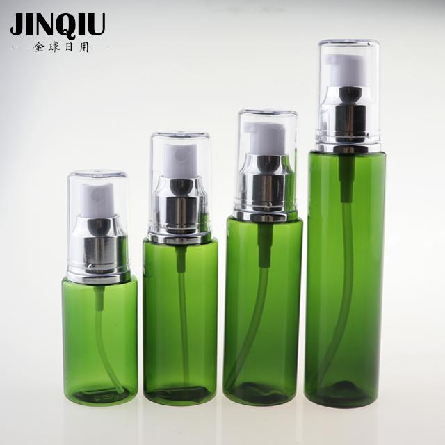 60 ミリリットル PETG 白香水高級プラスチック 2 オンススプレーアルミ噴霧器