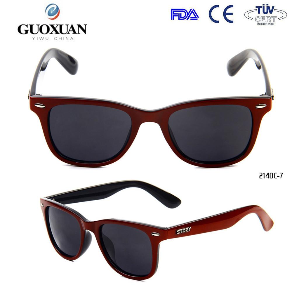 plastique UV400 TAC lunettes de soleil polarisées personnalisé avec  polarisée lunettes de soleil cartes de test 926cbfaf7717