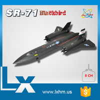 Cheap 64mm edf sr71 rc planes arf top selling products in alibaba