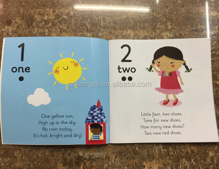 2020 bright in colour high quality children english learning book for beginner