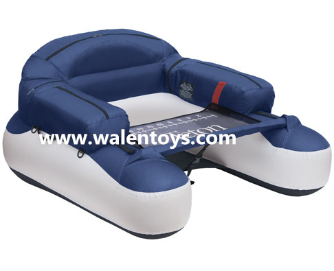 Inflatable Pontoon Fishing Boat Float Tube Belly Float