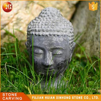 En Gros Sculpte A La Main Decoration D Interieur Antique Tete De Bouddha En Pierre Buy Tete De Bouddha Tete De Bouddha En Pierre Tete De
