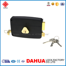 HIGH QUALITY WHOLE SALE SALE 120MM OR 140MM RIM LOCK FOR DOOR 6682N