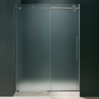 10mm Tempered Frosted Glass Price For Frameless Glass Shower Door   Buy  Frameless Glass Shower Door,Frosted Glass,10mm Tempered Glass Price Product  On ...