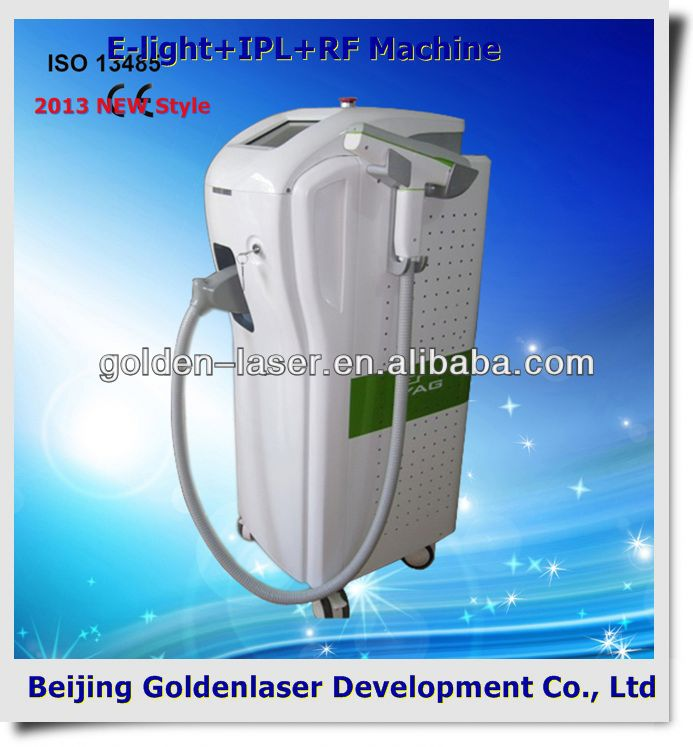 2013 New Cheapest price Beauty Equipment E-light+IPL+RF machine spot and freckle dispelling