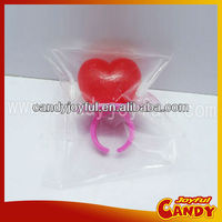 3D Heart shaped ring candy / Valentines day candy