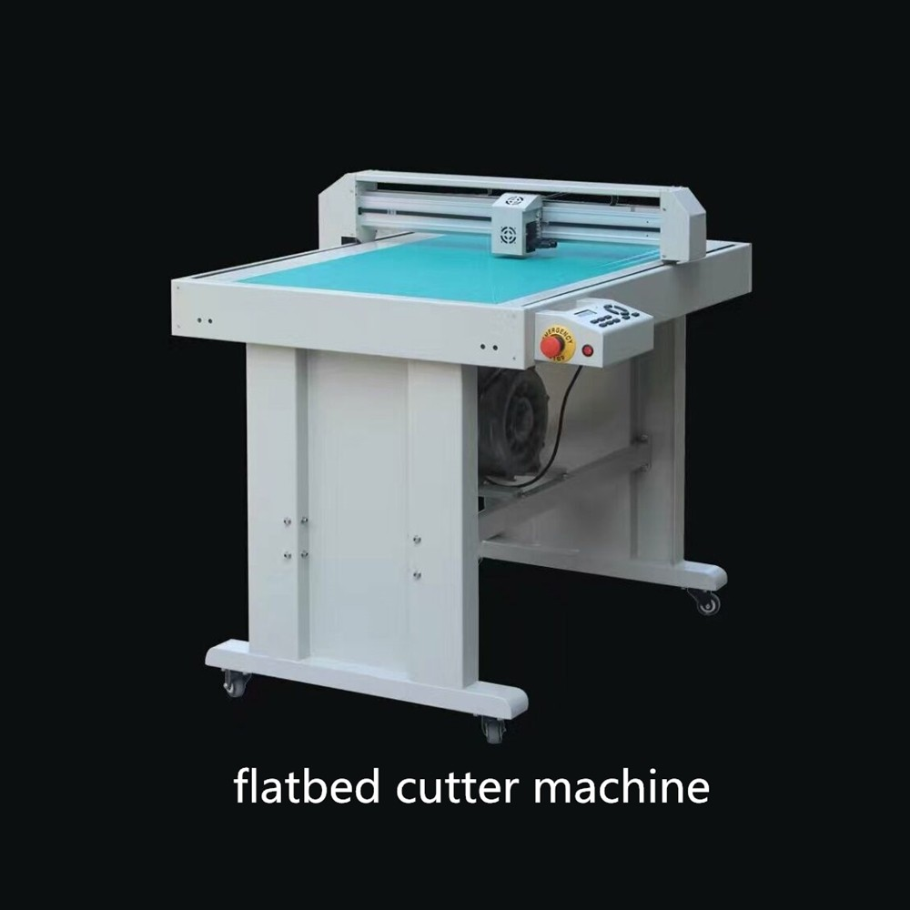 automatic small flatbed die cutting and creasing flatbed plotter for paper board carton