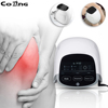 808 nm*3 soft cold laser diodes + far infrared light + red light therapy+massager +heating Body health machine natural cure