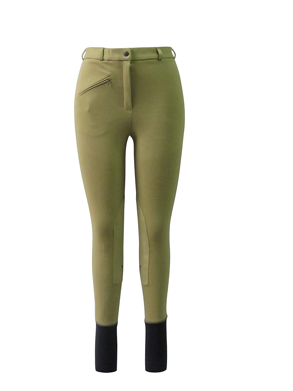 TuffRider Ladies Basic LowRise Pull-On Knee Patch Breeches