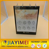 2017 acrylic calendar display stand