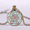 Alibaba hot sale Customized colorful hawaiian flower necklaces for gift