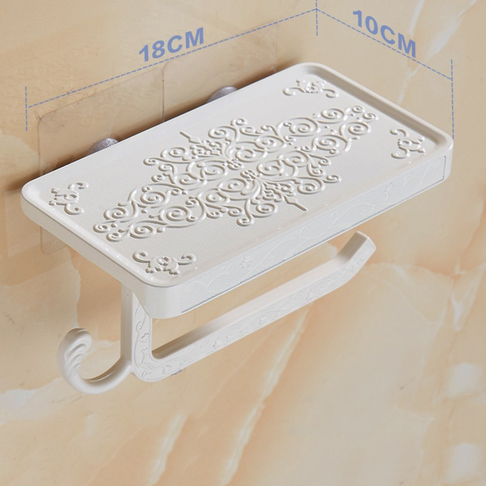 Toilet roll holders,European style Zinc alloy Toilet paper holders Holders for toilet paper Antique Loo roll holder For use in bathrooms toilets Carved roll towel rack-D