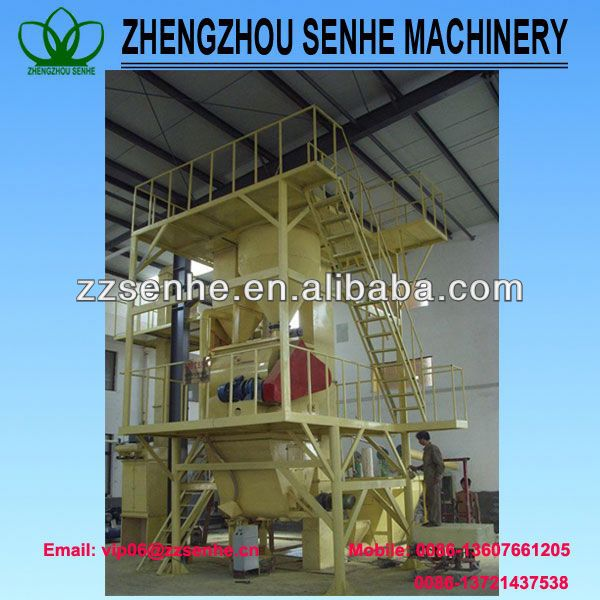 Abrasive production line