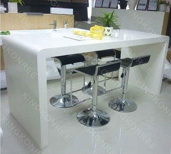 Nuevo Estilo Blanco Bar Mesa Cocina Contadores - Buy Product on ...