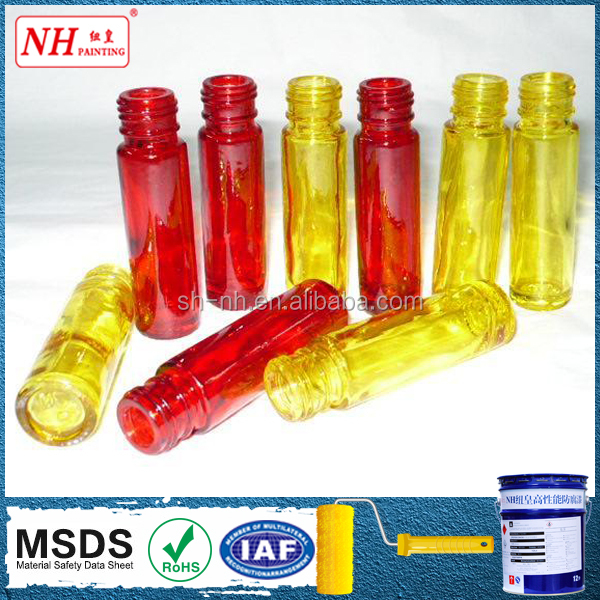 Water-based factory provide Ral color glass bottle coating paint