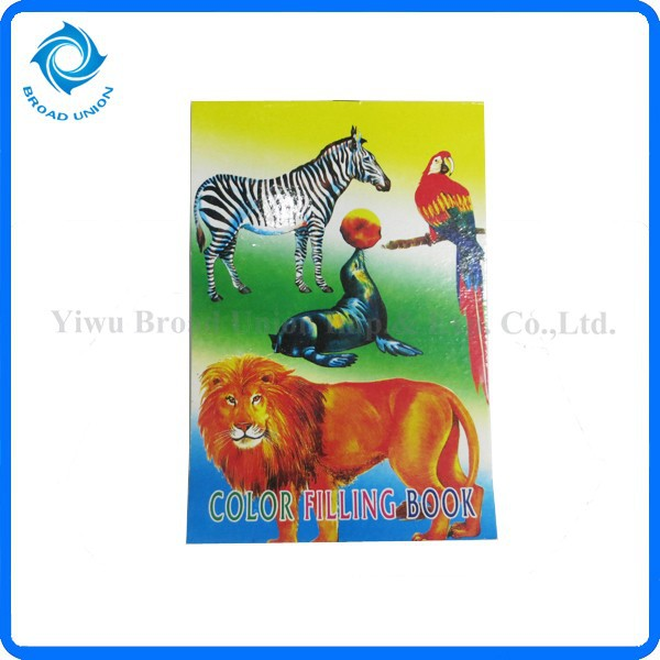 Kids Color Filling Book, Kids Color Filling Book Suppliers and ...