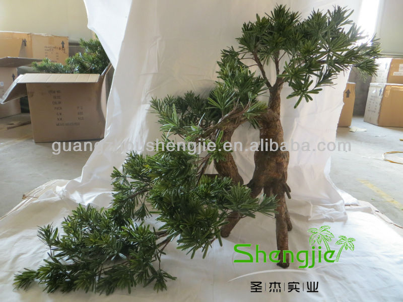 artificial natural wooden branches unique shape pine trees