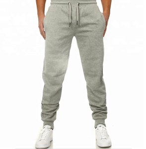 Private label athletic sweatpants men custom mens slim fit twill jogger pants with back pocket types of track pants sports
