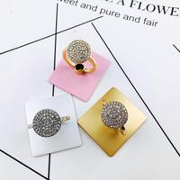 Wholesale fashion creative new style colorful diamond metal phone holder ring