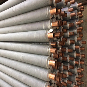 copper tube or copper tube with fins or copper fin tube for cooler and dryer and heat exchange and radiator