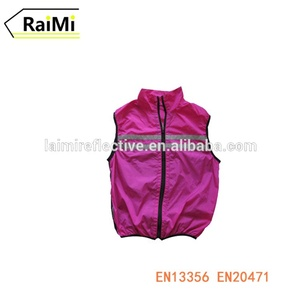 Reflective safety ventilate comfortable cycling sport vest running vest