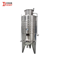 500L Auto Wine Brewery Equipment Wine Fermenting Used Tanks
