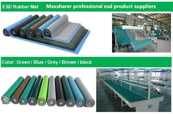Wholesale cheap esd mat cleanroom rubber anti static mat