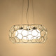 White Color and hanging chain lamps india,hanging lamp,Contemporary,hanging lamps living room Type Lamparas modernas MS-P4031L