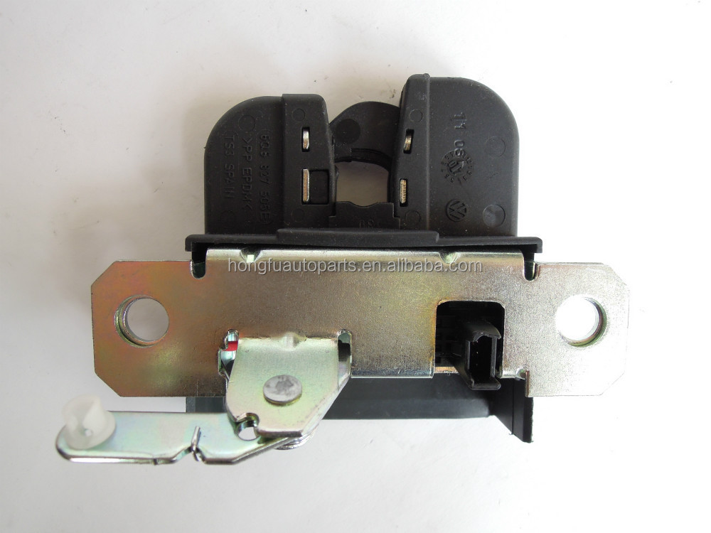 VW POLO, 9N ,TAILGATE LOCK MOTOR CATCH, 6Q6827505