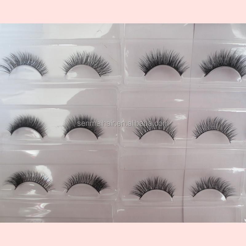 Short Mink Eyelashes Custom Made Mink Lashes Wholesale Eyelash ...