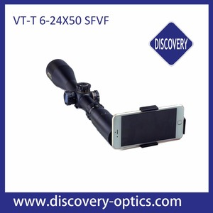 Discovery China wholesale VT-T 6-24x50SFVF long eye relief night vision infrared rifle scope