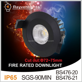 Foshan Factory Sell 8w Cob Led Fire Rated Downlight Dimmable