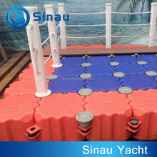 HDPE ship floating dock pad station dock for boat on sale