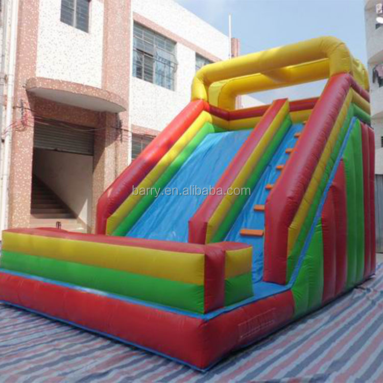 Indoor playground equipment toys giant inflatable slide for event