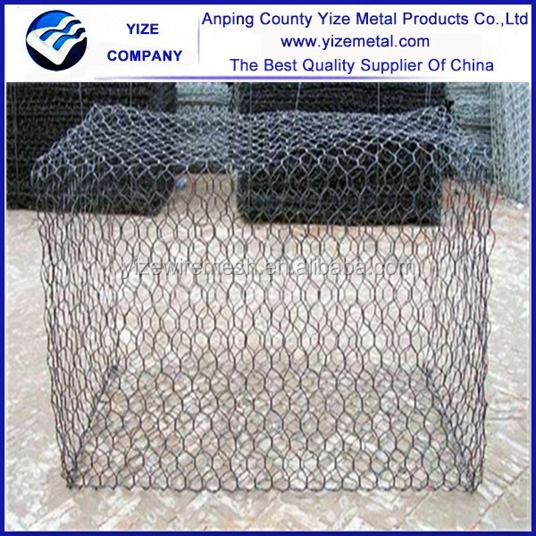 water or flood guard gabion box/ preventing of rockfall gabion box for export from China