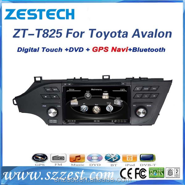HD LCD screen Car Dvd player for Toyota Avalon 2013 2014 2015 with gps radio bluetooth TV 3g