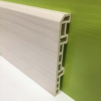 100mm Pvc Skirting Board Wall Baseboard From China Supplier