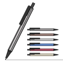 School and office supplies promotional ball pen best ball pen brands aluminum metal ball pen