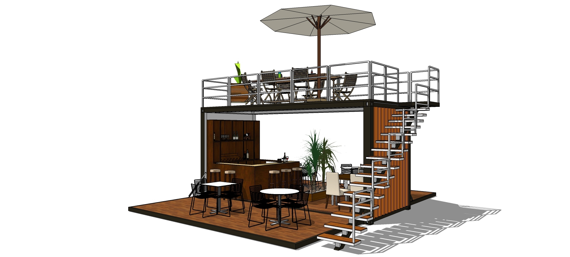 Free Design Shipping Container Cafe Food Kiosk Booth Container Coffee Shop Movable Bar View Shipping Container Cafe Courageous Product Details From Chengdu Keruijiesi Technology Co Ltd On Alibaba Com