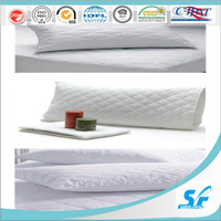 cotton polyester quilted pillow protector pillow case