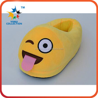 Emoji Cute Unisex Slippers Warm Winter Homes Shoes Indoor Slippers Plush Slipper