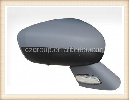 hot sale door or side mirror 9 wires for CITROEN 10 C5 with Electric Blinker and Temperature inductor