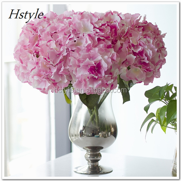 Artificial Silk Flower Bouquet Wedding Party Home Decoration Floral Hydrangea Flores Artificiales FZH141