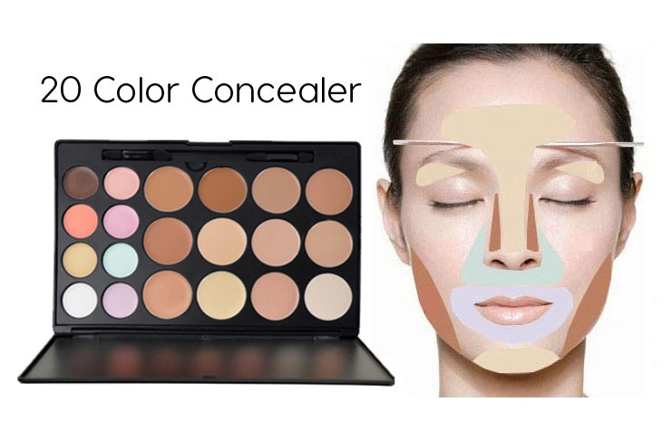 Camouflage makeup