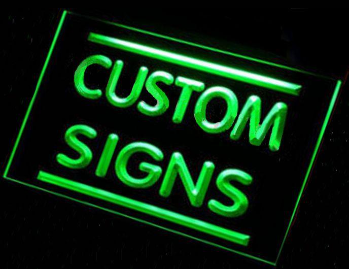 Light Up Signs Custom