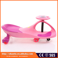 Factory price plastic wiggle adult swing car