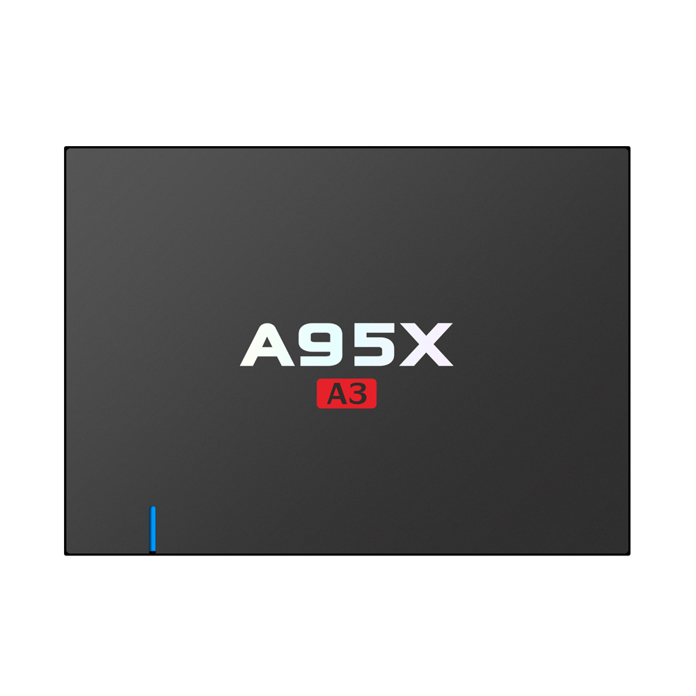 hot new products A95X A3 Android Tv Box Amlogic S912 2GB / 16GB dual band 2.4G / 5G WIFI Full Hd Tv Box