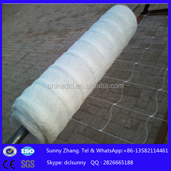 Extruded Plastic Plant Support Net/PP plant climbing netting